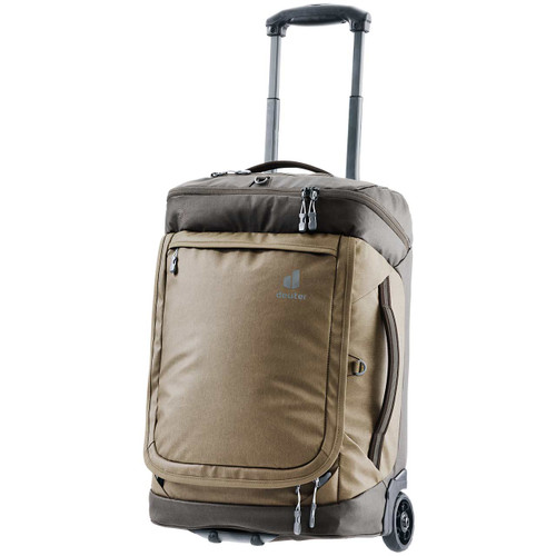 Deuter AViANT Pro Movo 36 Rolling Duffel Bag - Clay/Coffee