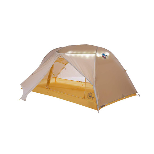 Big Agnes Tiger Wall UL2 mtnGLO Solution Dye Tent - Rainfly Open