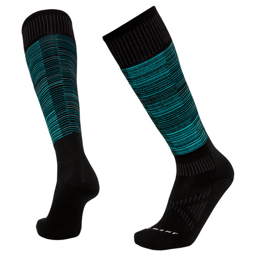 Le Bent Glacier Ultra Light Socks - Aruba Blue