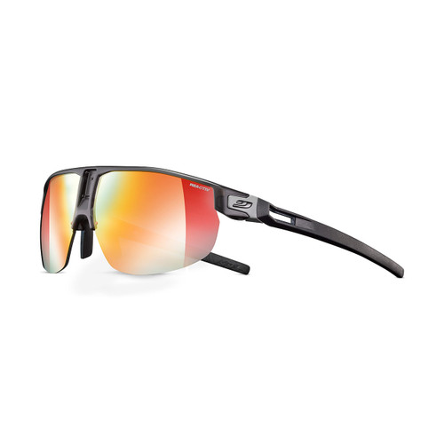 Julbo Rival Sunglasses - Translucent Black/Black