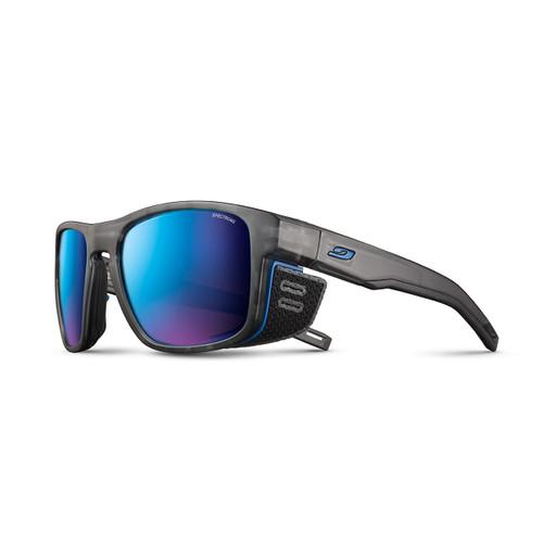 Julbo Shield M Sunglasses - Translucent Grey/Blue