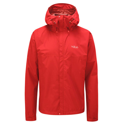 Rab Downpour Eco Jacket - Ascent Red
