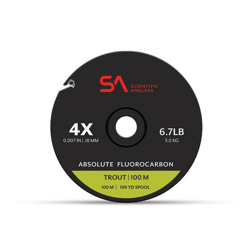 Scientific Anglers Absolute Trout Fluorocarbon Tippet 100m