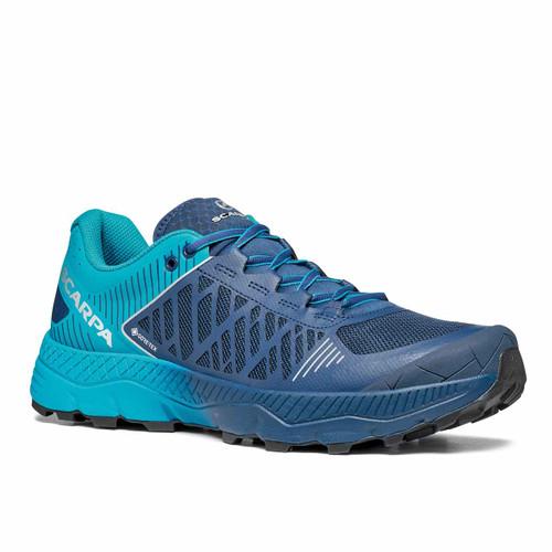 Spin Ultra GTX Trail Running Shoe - Ottanio/Navy