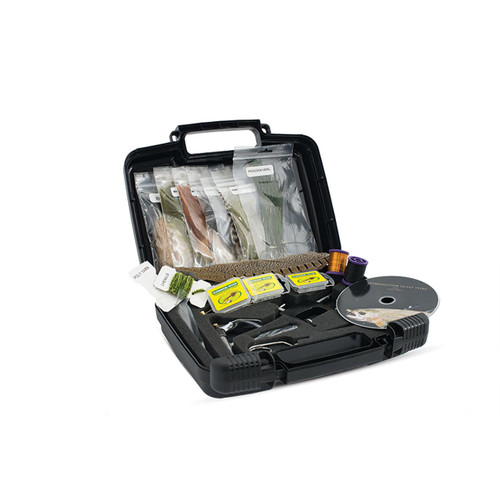 Scientific Anglers Deluxe Fly Tying Kit - Open