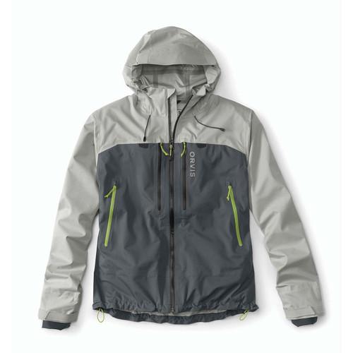 Orvis Men's Ultralight Wading Jacket - Alloy/Ash