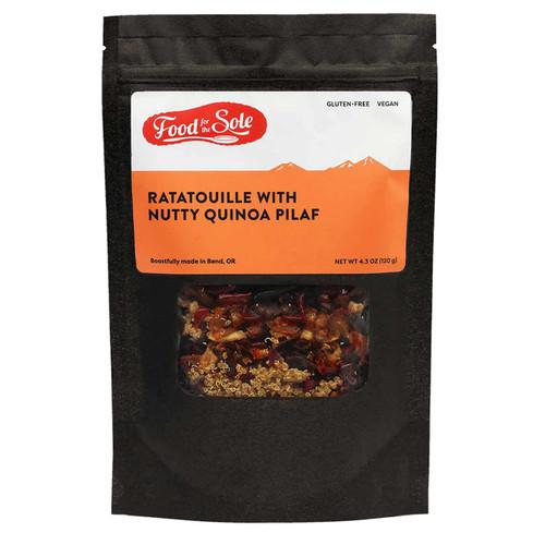 Ratatouille with Nutty Quinoa Pilaf