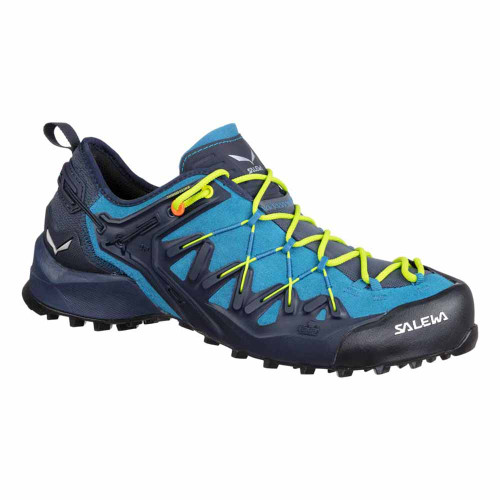 Wildfire Edge Approach Shoe - Premium Navy/Fluo Yellow