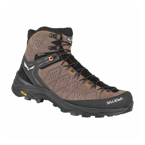Men's Alp Trainer 2 Mid GTX Hiking Boot - Wallnut/Fluo Orange
