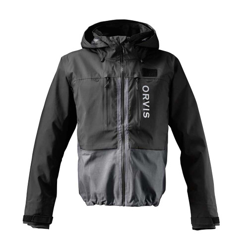 Orvis PRO Men's Wading Jacket - Black/Ash