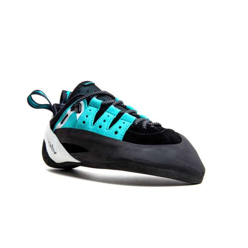 Geshido Lace Climbing Shoe - Black/Teal/White