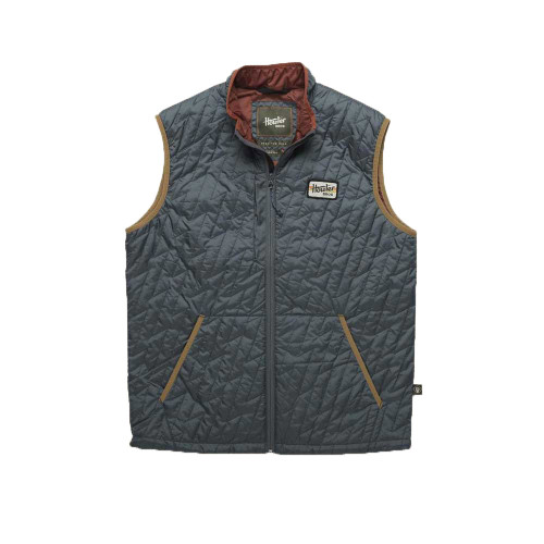 Howler Brothers Lightning Quilted Vest - Gulf Blue