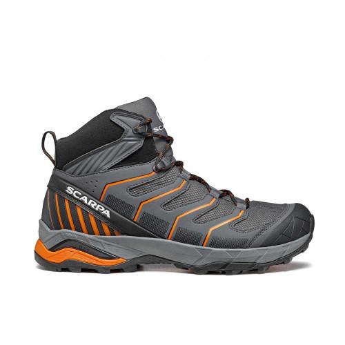 SCARPA Maverick Mid GTX Hiking Boot - Iron Grey/Orange