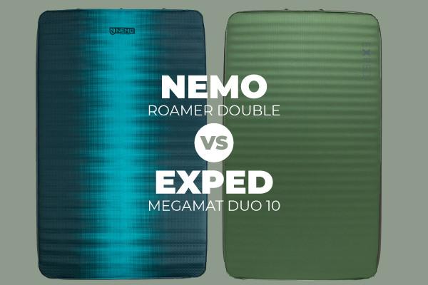 Gear Review: Nemo Roamer Double vs Exped Megamat Duo 10