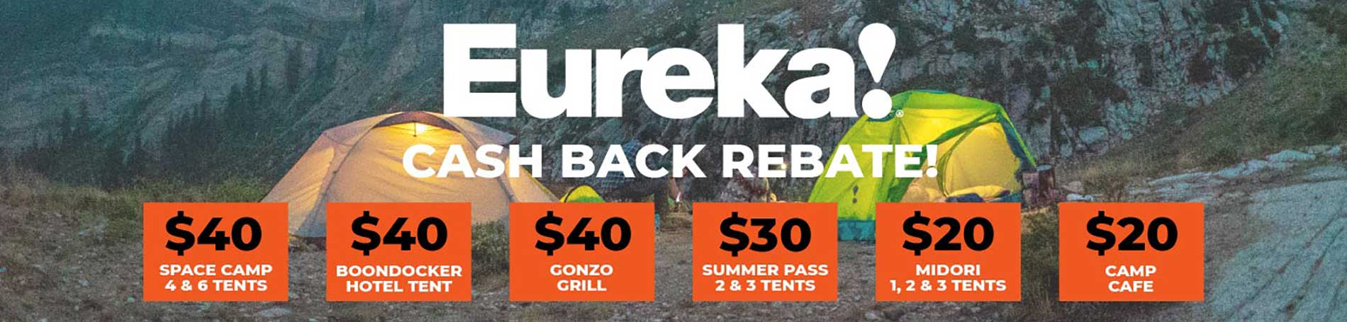 Eureka Rebate Offers 2019