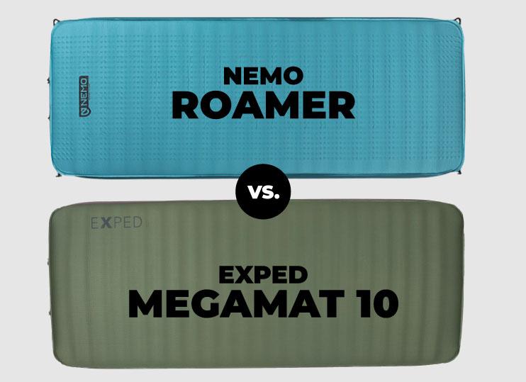 Exped Megamat vs NEMO Roamer Gear Review
