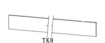 RTA - PWS TK8 (4-1/2'' x 96'')
