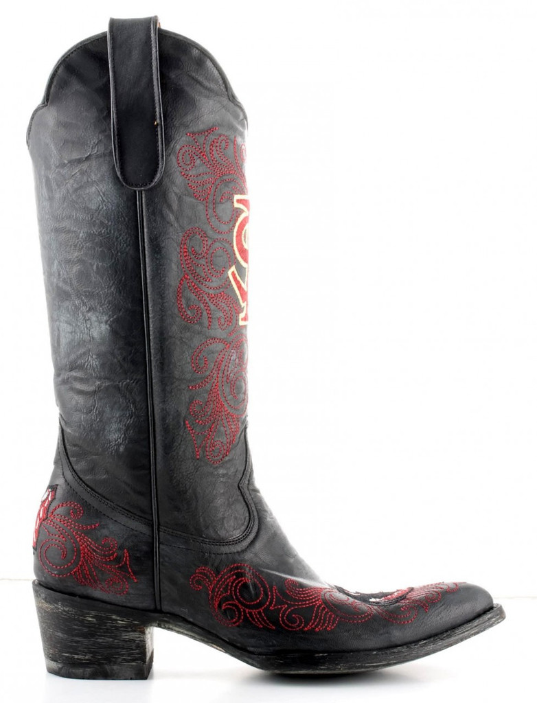 Gameday Florida State Boots Side