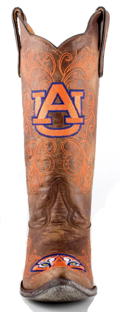 Gameday Auburn Boots Front