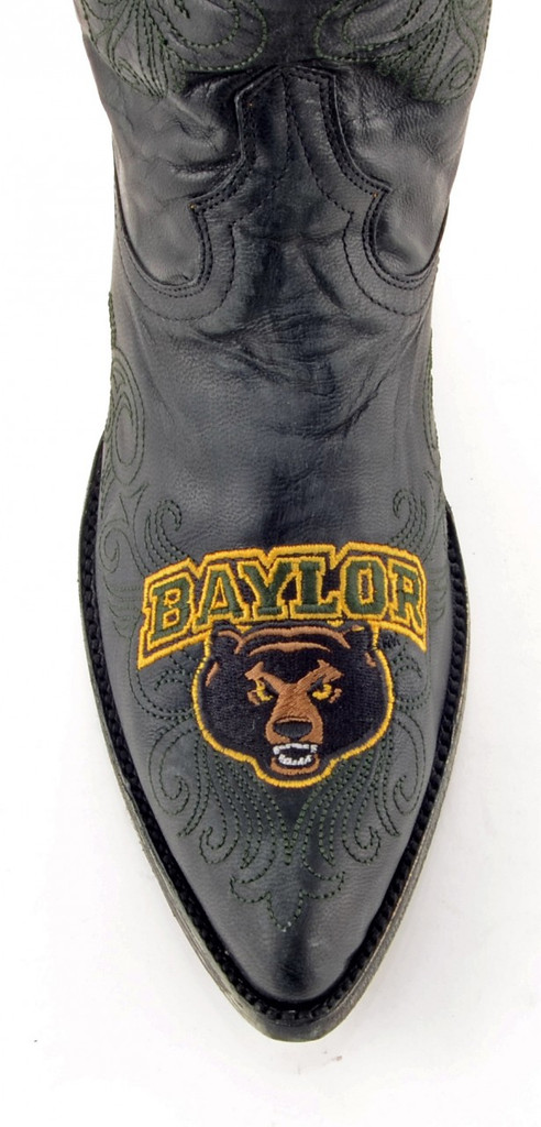 Gameday Baylor Boots Toe