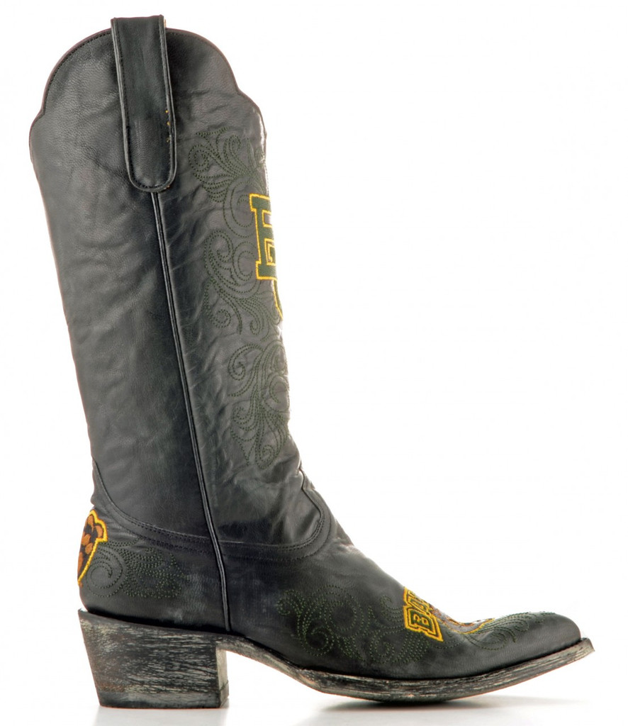 Gameday Baylor Boots Side