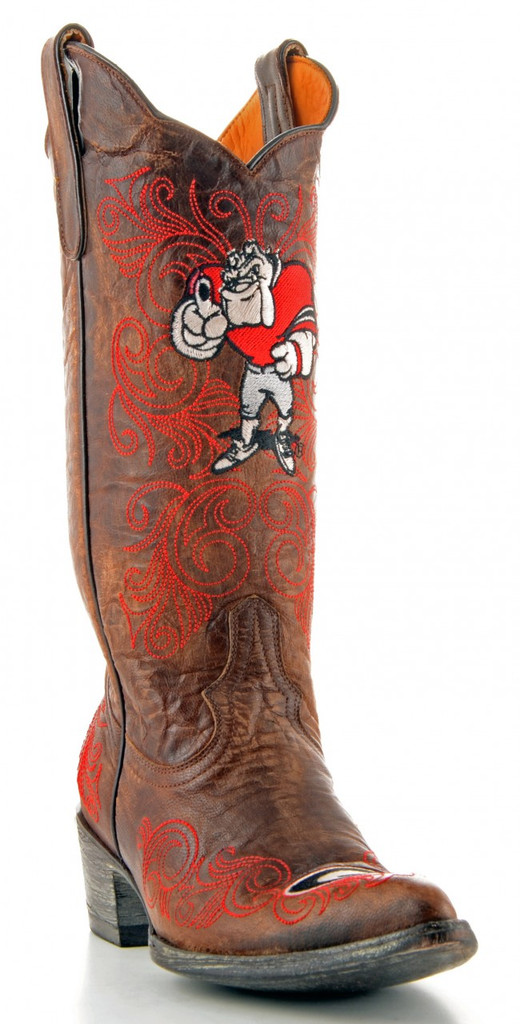 Gameday Georgia Boots Main