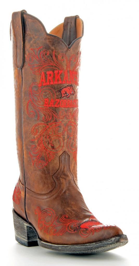 Gameday Arkansas Boots Main