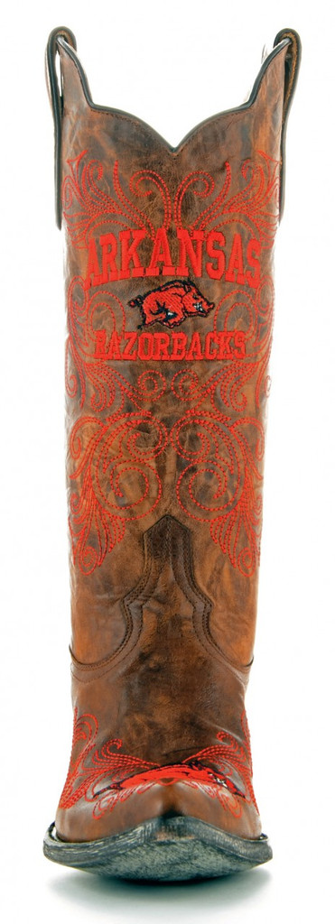 Gameday Arkansas Boots Front
