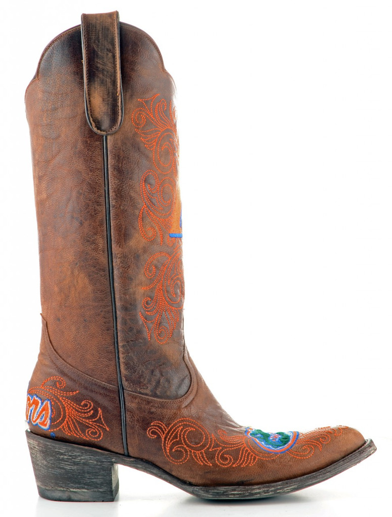 Gameday Florida Boots Side