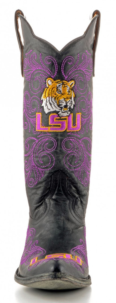 Gameday Louisiana State Boots Front