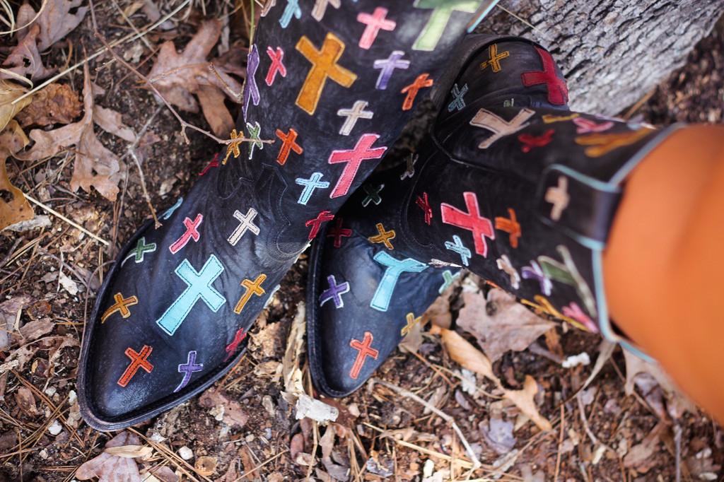 Old Gringo Ooh My God Black Boot L819-5 Image