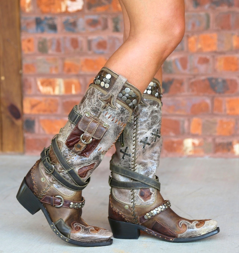 Lane for Double D Ranch Frontier Trapper Boots DD9004A Picture