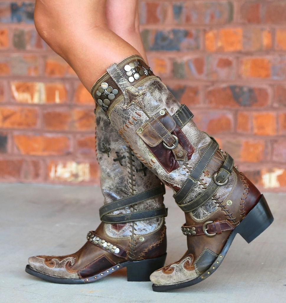 Lane for Double D Ranch Frontier Trapper Boots DD9004A Shaft