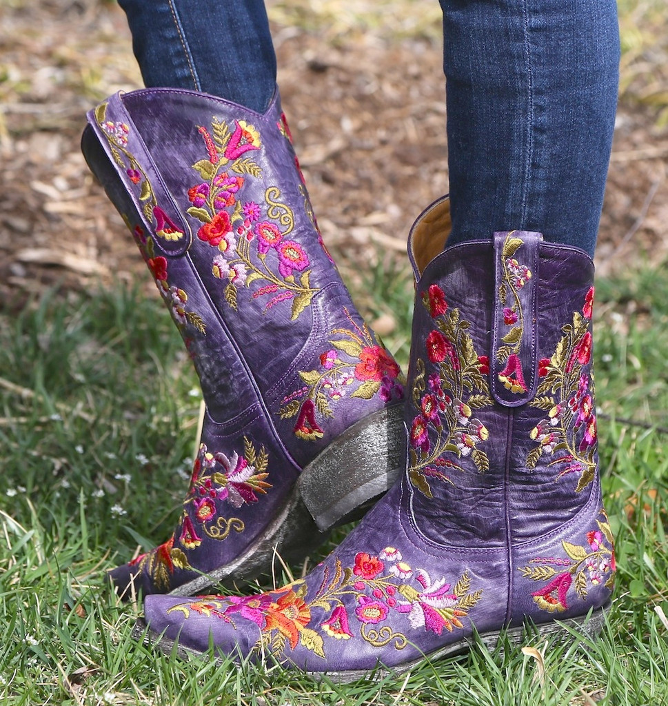 Old Gringo Jasmine Violet Boots L1286-14 Picture
