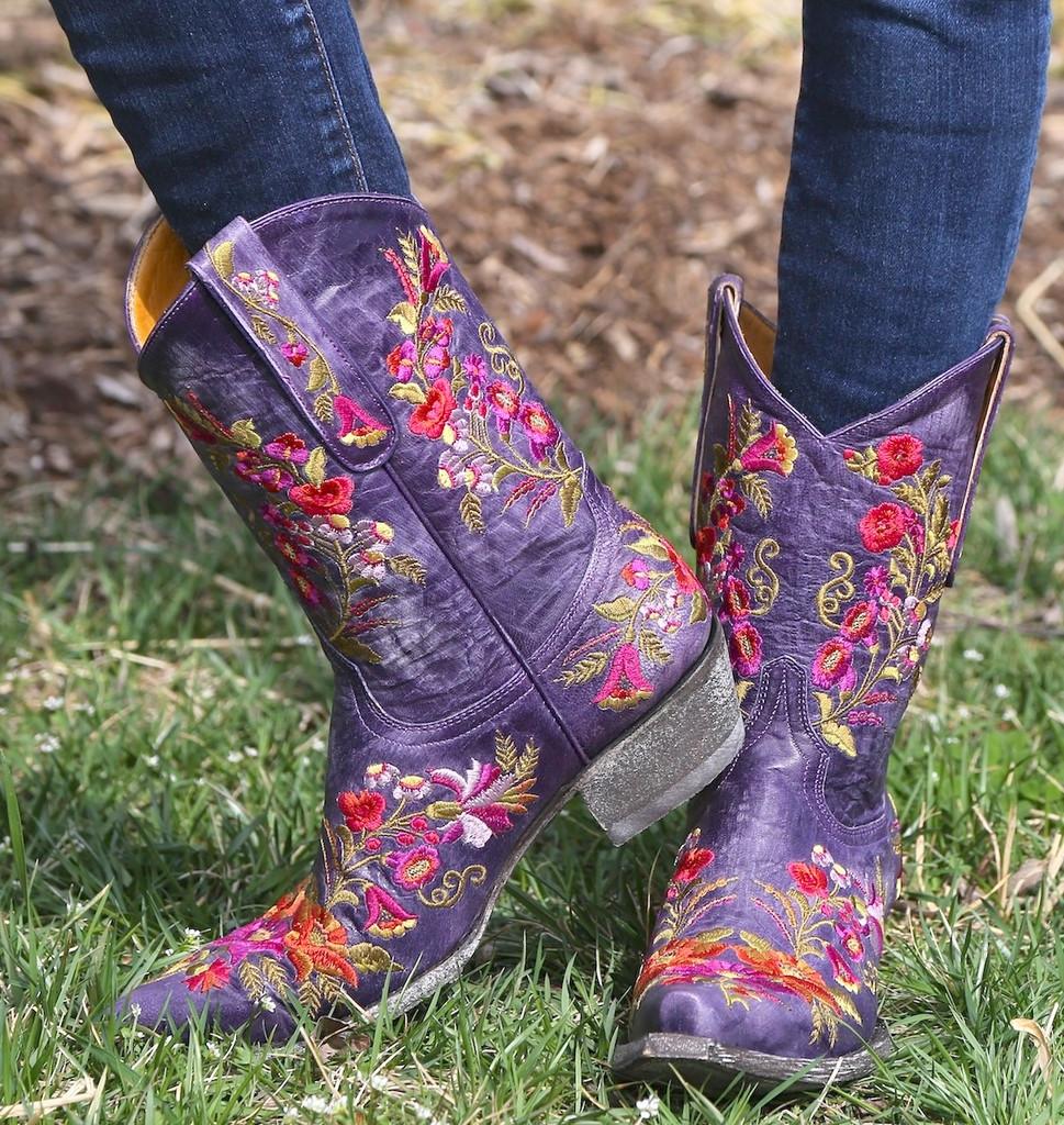 Old Gringo Jasmine Violet Boots L1286-14