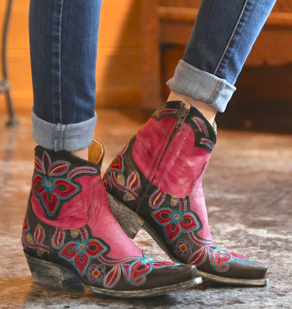 Old Gringo Marrione Zipper Boots L1036-3