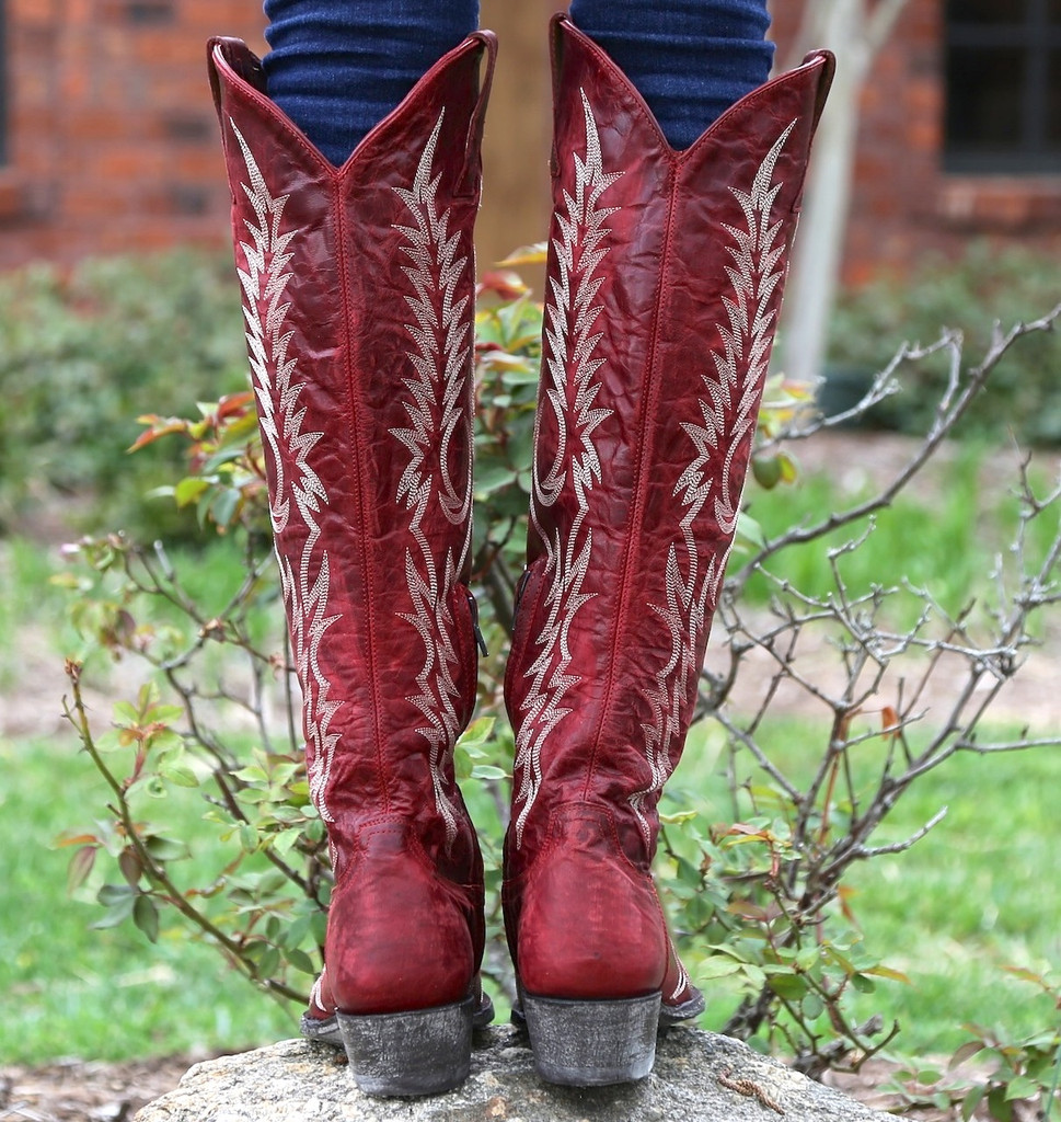 Old Gringo Mayra Red Boots L1213-1