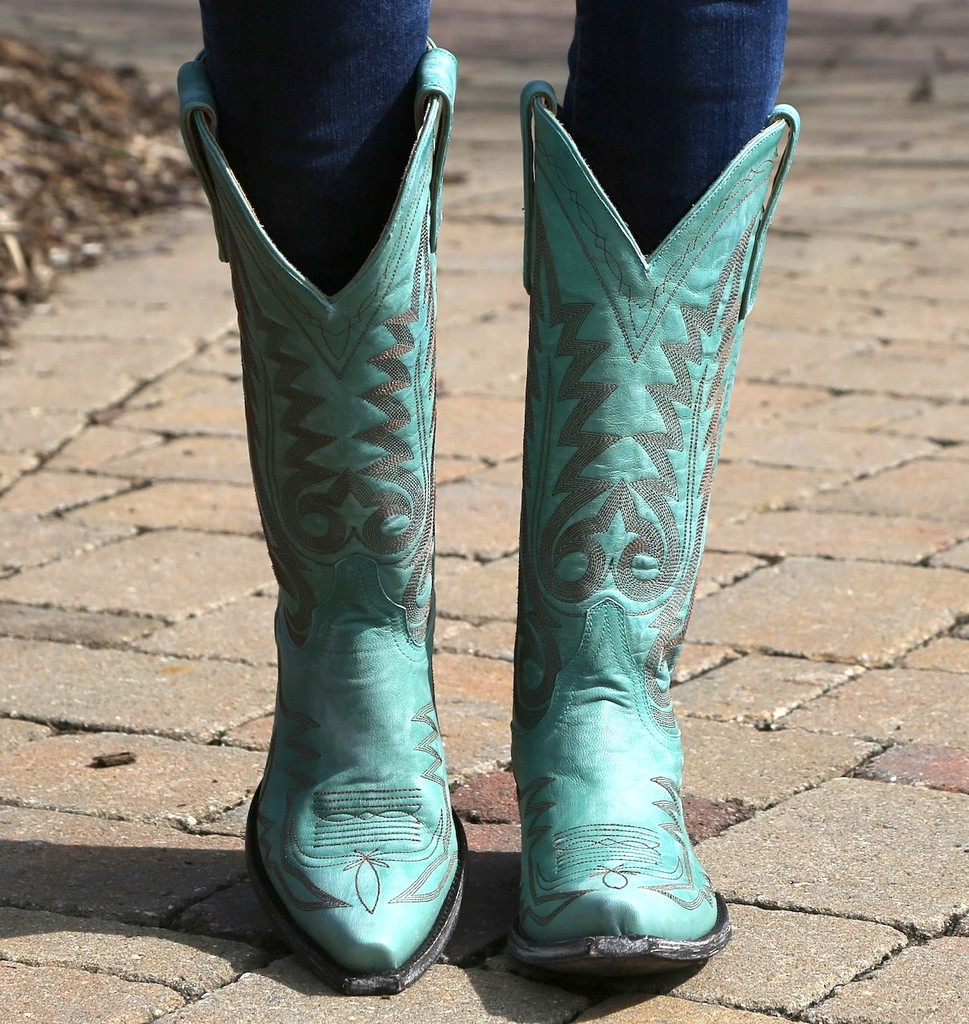 Old Gringo Nevada Aqua Boot L175-352 Image
