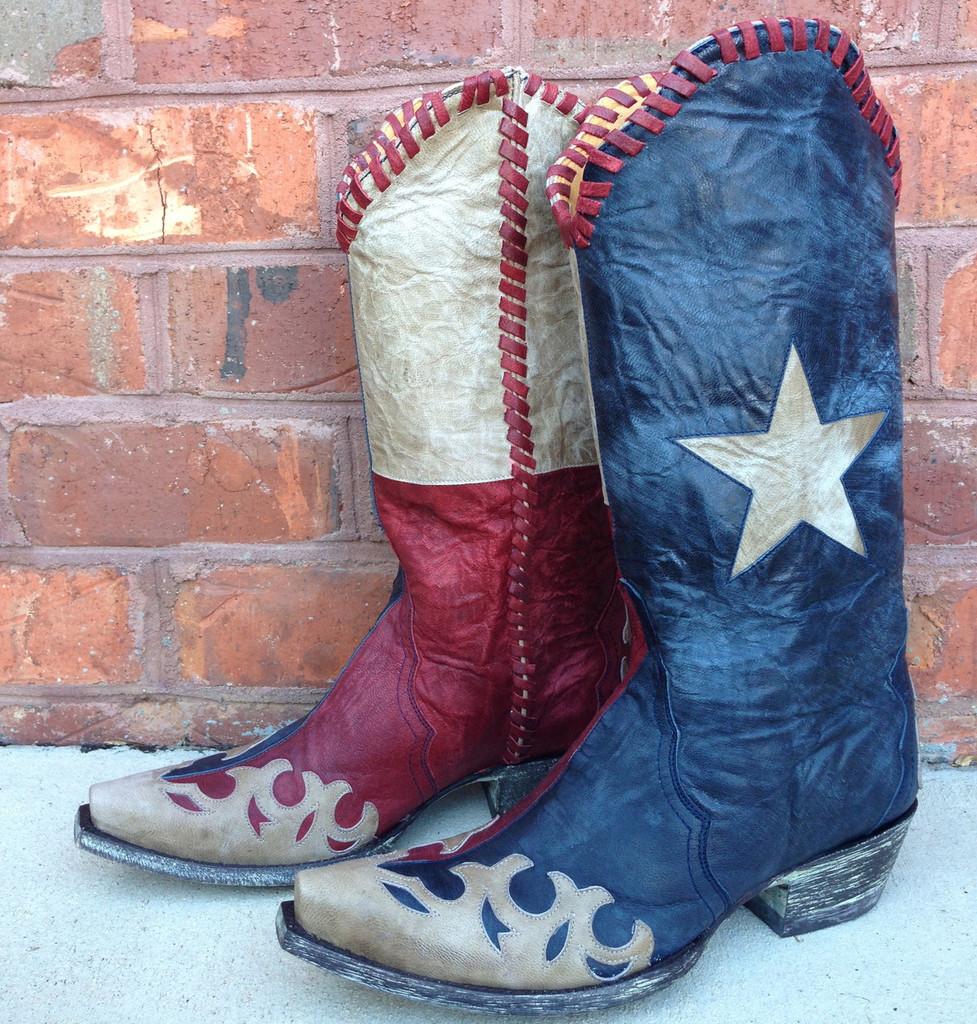 Old Gringo Spirit of Texas Boots L1416-4
