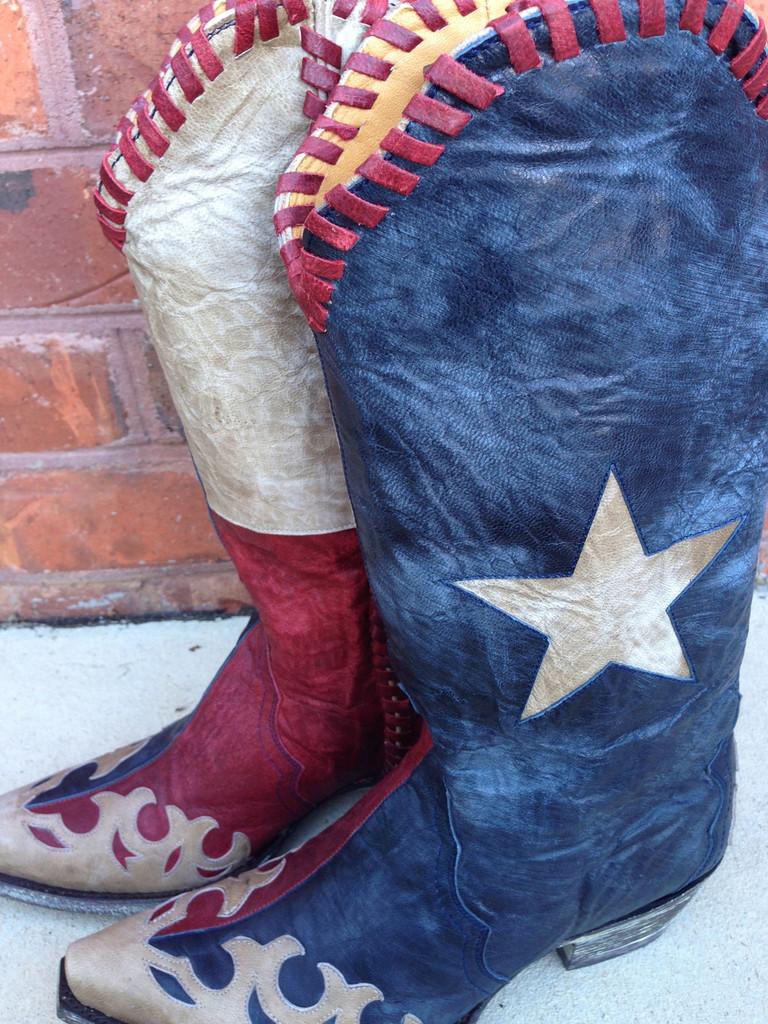Old Gringo Spirit of Texas Boots