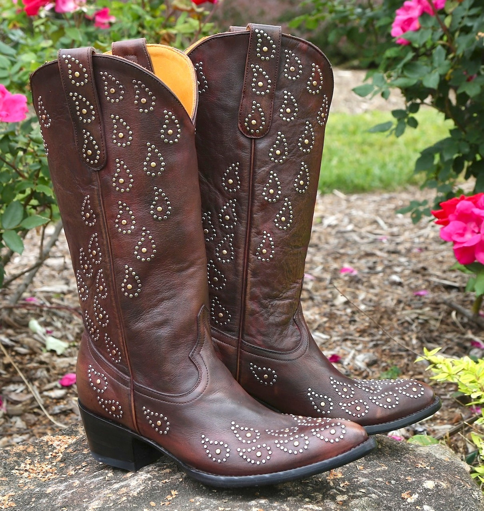 Old Gringo Asara Rust Boots L1195-1 Image