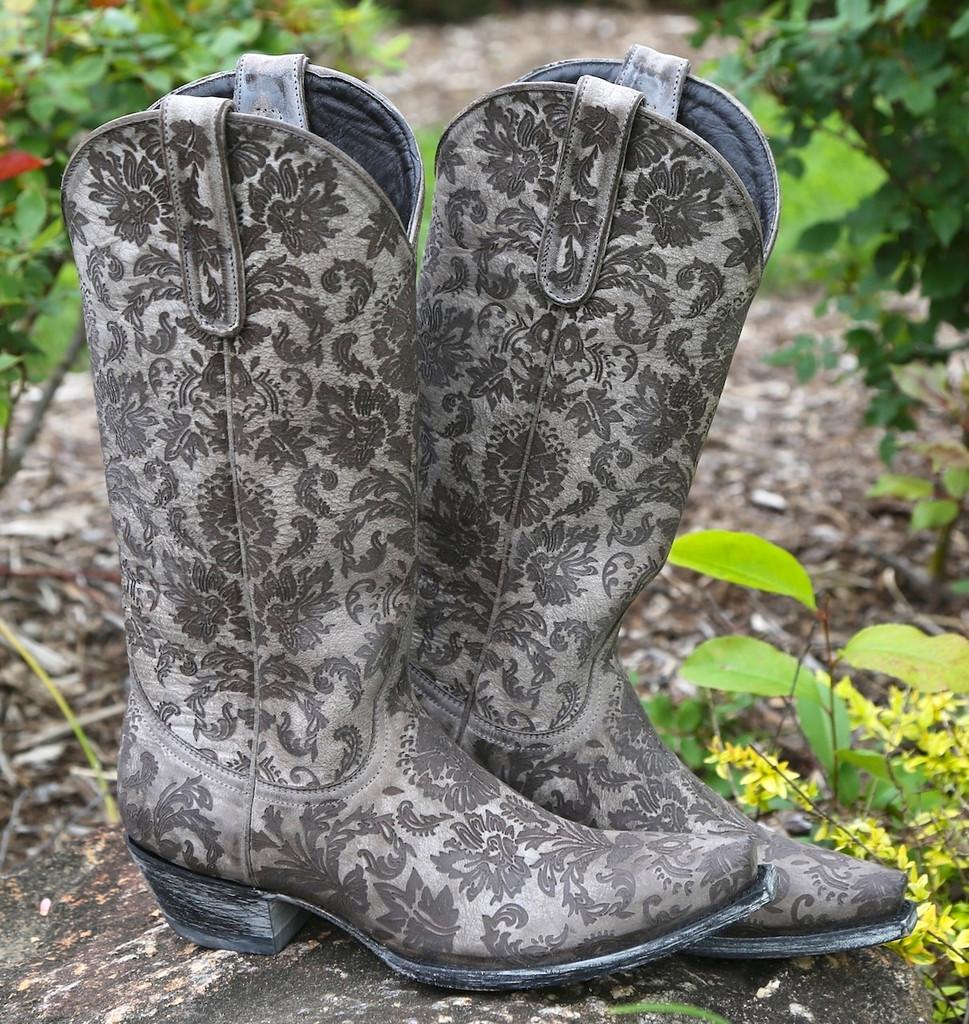 Old Gringo Nadia Black Boots L1642-1 Image