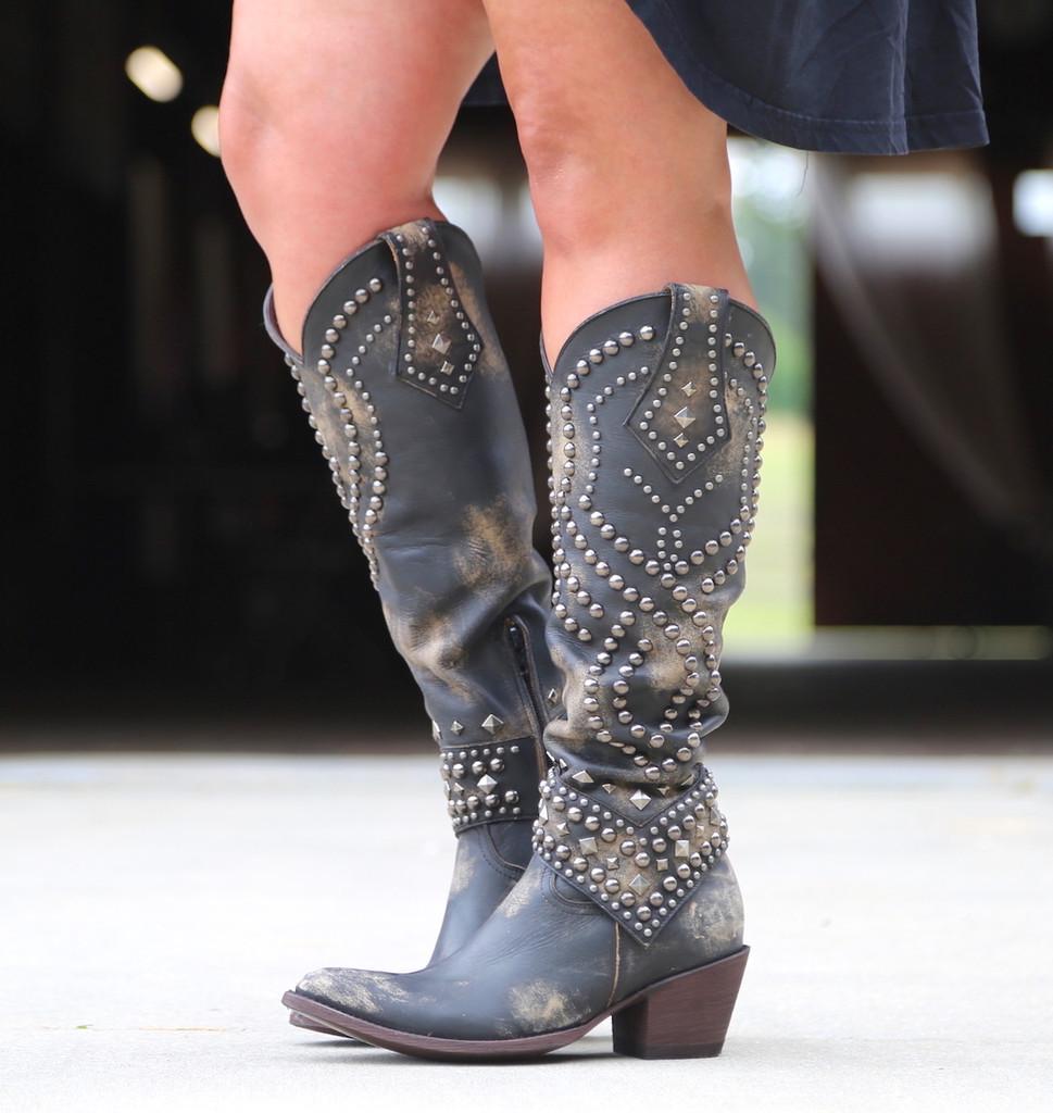 Old Gringo Belinda Beige Boots L903-17 Image
