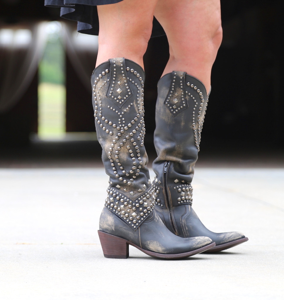 Old Gringo Belinda Beige Boots L903-17 Photo