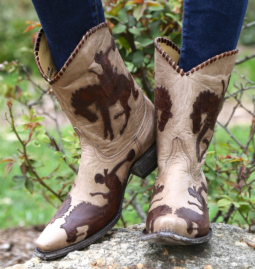 Yippee by Old Gringo Cowboy Up Boots YL091-3