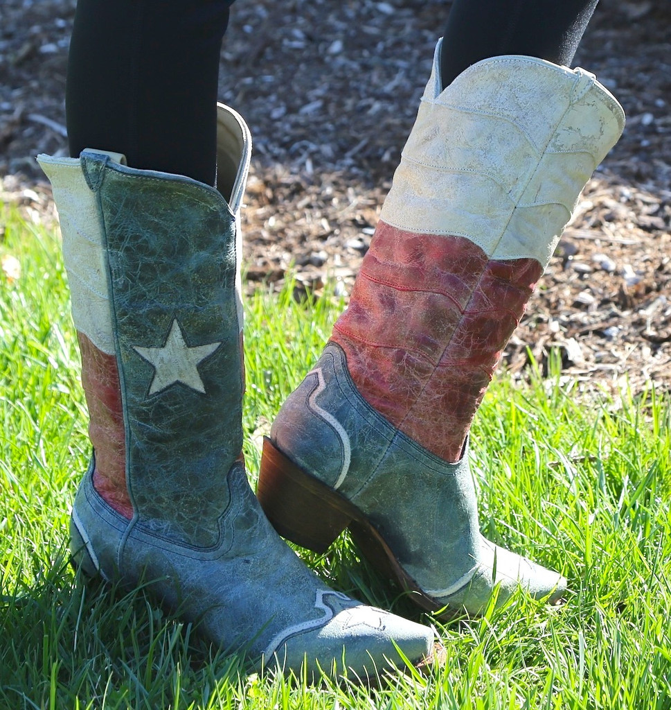 Corral Texas Flag Boot A2518 Picture