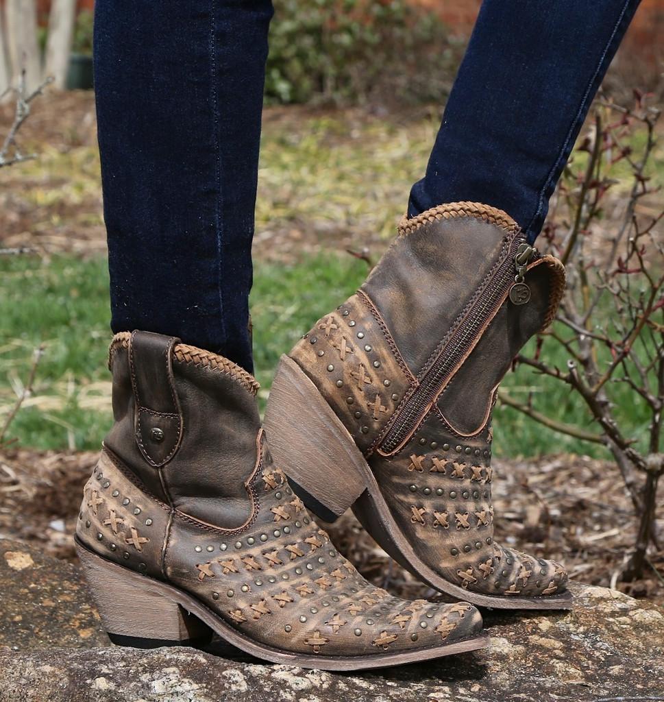 Liberty Black Vintage Canela Boots LB711222 Image