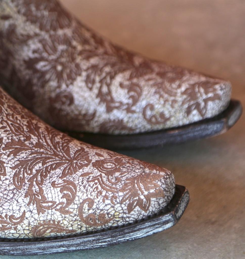 Old Gringo Nadia Milk Boots L1642-5 Toe