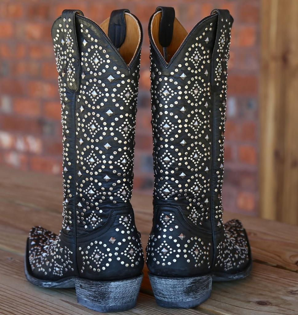 Old Gringo Difama Black Boots L2006-2 Heel