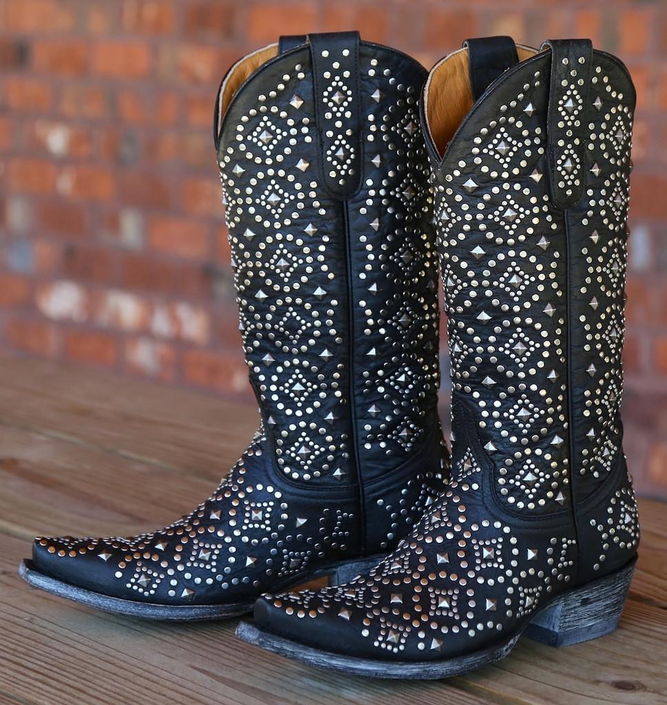 Old Gringo Difama Black Boots L2006-2 Image